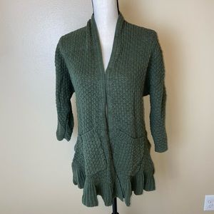 Anthropology Guinevere Knit Sweater Cardigan